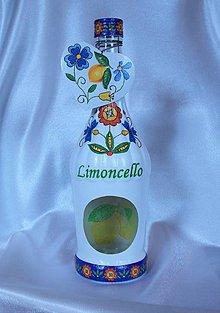 Nádoby - Darčeková fľaša Limoncello - 10802744_