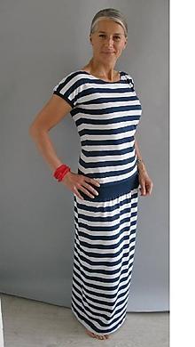 Šaty - Námořnické šaty...vel.S - XXL...(M- skladem) - 10802977_