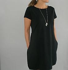 Šaty - Šaty...černé...( lze i modré ) - 10803020_
