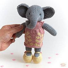 "Hračky - sloníča ""Sonya"" - 10802077_"