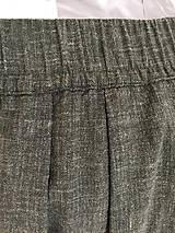 Sukne - Olivová sukňa - 10802428_