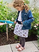 Detské oblečenie - Na slnku zmení farbu - Kúzelná sukňa vzor Jednorožec - 10801218_
