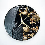 Hodiny - Luxury Garden - Živicové drevené hodiny - 10802849_