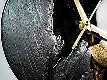 Hodiny - Luxury Garden - Živicové drevené hodiny - 10802859_