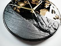 Hodiny - Luxury Garden - Živicové drevené hodiny - 10802867_