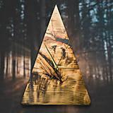 Hodiny - RAW Resin 5 - Topoľové drevené hodiny - 10803052_