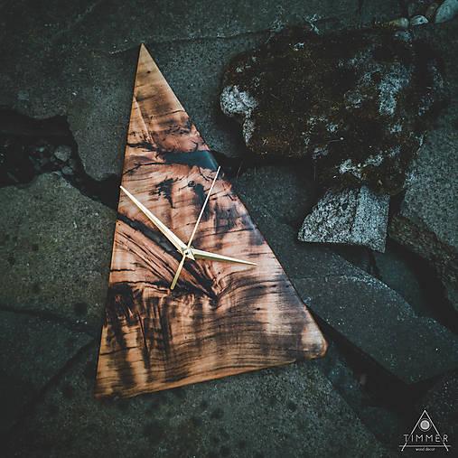 RAW Resin 5 - Topoľové drevené hodiny