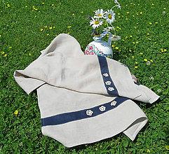 Úžitkový textil - Ľanová utierka - 10802853_