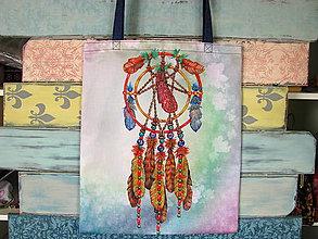Nákupné tašky - Taška pro slečnu s copánky - 10801329_