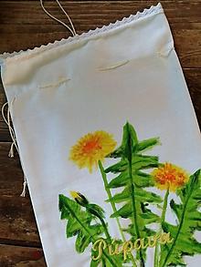 Úžitkový textil - PÚPAVA väčšie bylinkové vrecko - 10801981_