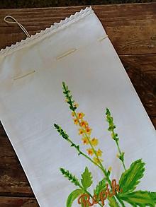 Úžitkový textil - REPÍK väčšie bylinkové vrecko - 10802020_
