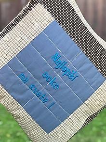 Úžitkový textil - DEň OCkOV - vankúš - 10805595_