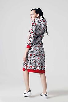 Šaty - Teplákové šaty Mica - 10804068_