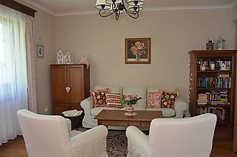 Úžitkový textil - Čas ruží - vankúše Rosehill - 10805530_