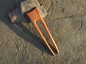 Ozdoby do vlasov - Drevená ihlica do vlasov - 10803174_