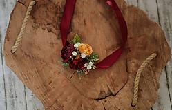 Náramky - Kvetinový náramok - 10805878_