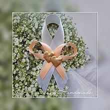 Pierka - svadobné pierko - stužka - 10803127_