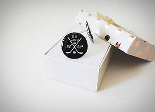 Šperky - Manžetové gombíky - 10805969_