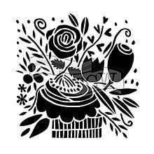 Pomôcky/Nástroje - Šablóna na maľovanie TCW Celebration bouquet - 10804802_
