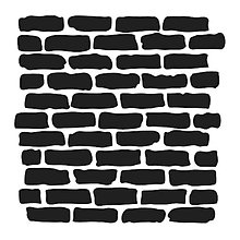 Pomôcky/Nástroje - Šablóna na maľovanie TCW Bricks - 10804824_