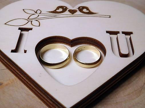 vintage svadba/vankúšik pod svadobné prstene XXXI