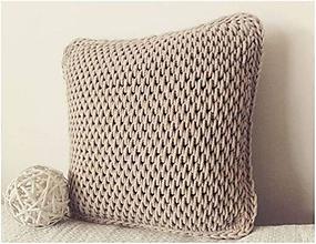 Úžitkový textil - Vankúš Nordic Day - 10803539_