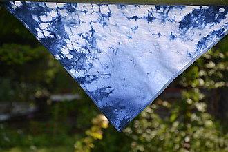 Šatky - Šatka modrá - 10803757_