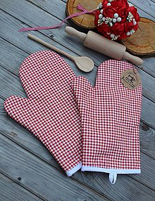 Úžitkový textil - Kuchynské rukavice - 10803357_