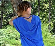 Šaty - Letné šaty parížska modrá - 10804661_