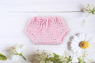 Detské oblečenie - Ružové nohavičky EXTRA FINE - 10803953_