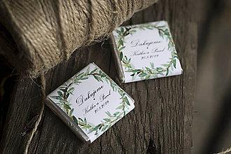 Darčeky pre svadobčanov - Čokoládka
