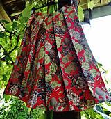 Sukne - sukňa so záhybmi - 10804434_