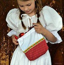 Iné tašky - Obliekaj sa Hanka / folk taštička - 10805060_
