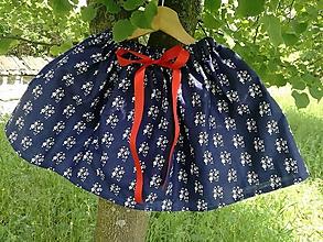 Sukne - folklorna suknička - 10804960_