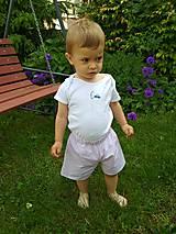 Detské oblečenie - Ružové kraťasky - 10804774_