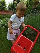 Detské oblečenie - Ružové kraťasky - 10804775_