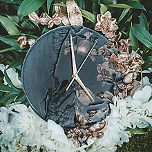 Hodiny - Luxury Garden - Živicové drevené hodiny - 10803086_