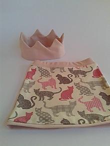 Detské oblečenie - Dievčenská úpletová sukňa - 10805224_