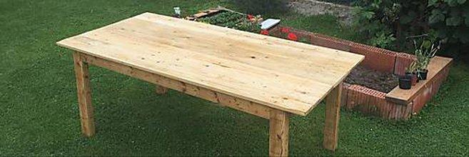 Nábytok - Drevený stôl