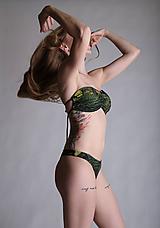 Bielizeň/Plavky - Henri Rousseau - bandeau plavky - 10804915_