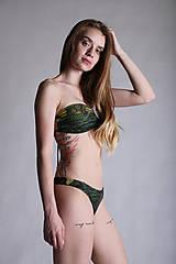 Bielizeň/Plavky - Henri Rousseau - bandeau plavky - 10804918_