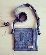 Kabelky - Džínová kabelka - 10803288_