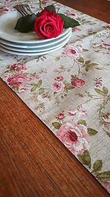 Úžitkový textil - Obrus štola - 10803642_