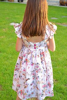 Detské oblečenie - šaty Gréta - 10806366_