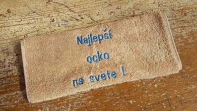 Úžitkový textil - uteráčik pre oteckov - 10807643_