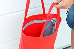 Veľké tašky - Ala (taška) červená -20% - 10806107_