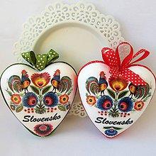 Dekorácie - Srdiečko ornamentové, väčšie - 10808077_