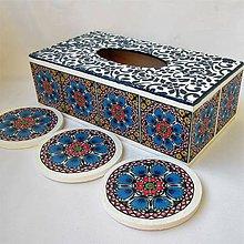 Krabičky - Kolekcia mandalová - 10808139_