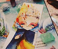 Papiernictvo - Moje plamene/ záložka do knihy - 10807605_