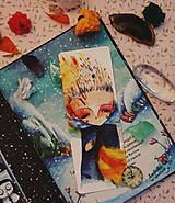 Papiernictvo - Moje plamene/ záložka do knihy - 10807606_